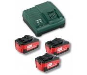 Комплект аккумуляторных батарей Metabo 18 В/4.0 Ач