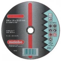 Отрезной круг Metabo Novorapid Inox 230 мм 616274000