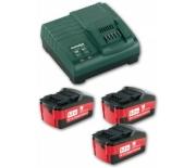 Комплект аккумуляторных батарей Metabo 18 В/5.2 Ач 685048000