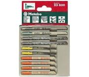 Набор пилочек для лобзика Metabo 10 предметов  623600000