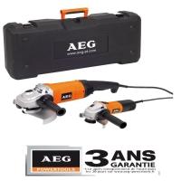 AEG Болгарки WS21-230DMS +WS6-125 4935419369