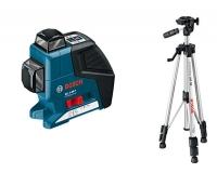 Линейный лазерный нивелир (построитель плоскостей) Bosch GLL 2-80 P Professional 0601063204