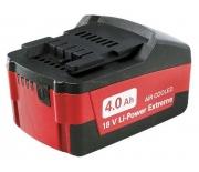 Аккумулятор Metabo Li-Ion 18 В/4.0 Ач