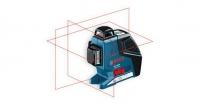 Линейный лазерный нивелир (построитель плоскостей) Bosch GLL 3-80 P + вкладка под L-Boxx 0601063305
