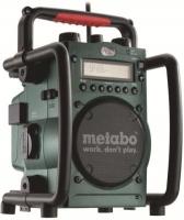 Радиоприёмник + зарядное устройство Metabo RC 14,4-18B 602106000